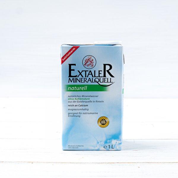 Mineralwasser Extaler naturell 1,0 l ohne Pfand