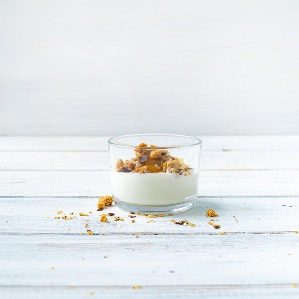 """""""Business Schoko-Müsli"""" mit Joghurt"""