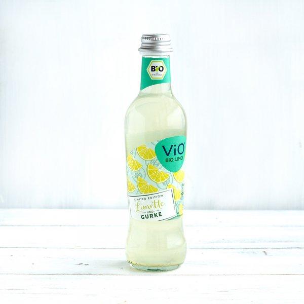 Vio Bio Limo Limette und Gurke 0,3 l