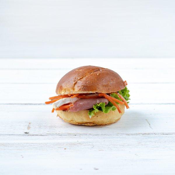 "Brioche-Burger ""Au Jus"""