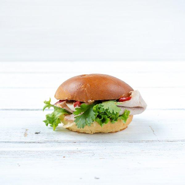 "Brioche-Burger ""Banh Mi"""